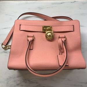 Blush small Michael Kors Hamilton